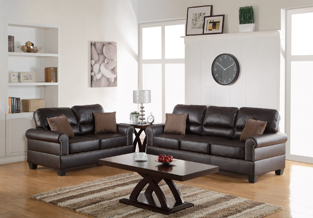 F7878 - Travis 2-PCs Sofa and Loveseat Set