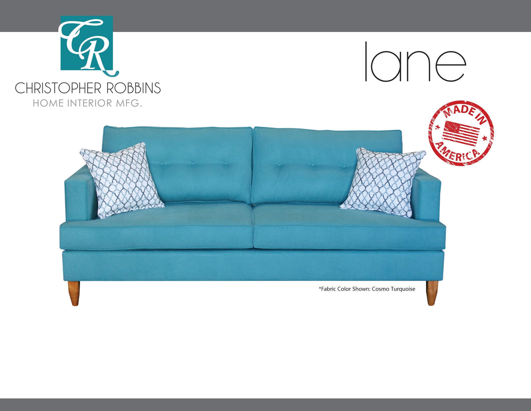 Christopher Robbins Sofa Collection - Custom Fabric Upholstery - Lane Sofa Made In USA - CALL FOR PRICING