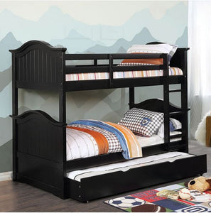 CM-BK635BK-TT-BED - Name Twin over Twin Bunk Bed