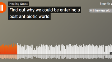 Antibiotic Resistance: Here's Why we Could be Entering a Post-Antibiotic World (PODCAST)
