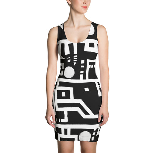 Code Sublimation Cut & Sew Dress
