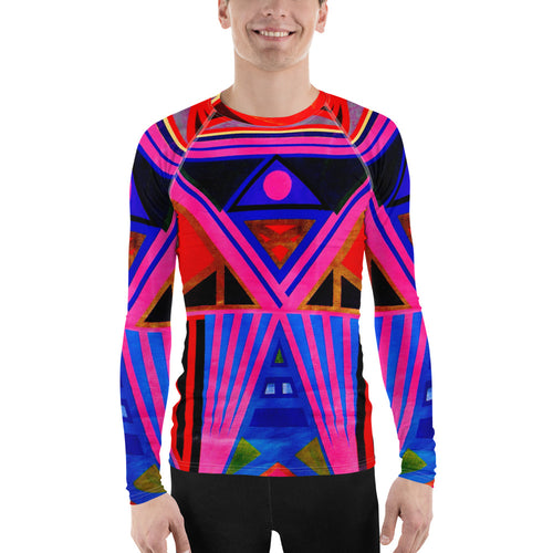 Kente Men's Rash Guard