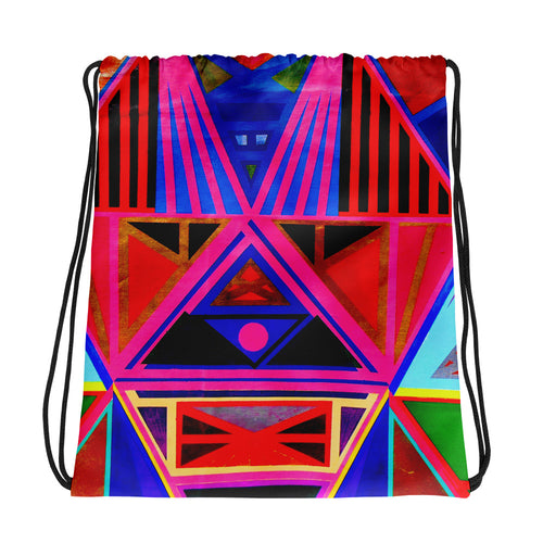 Kente Drawstring bag