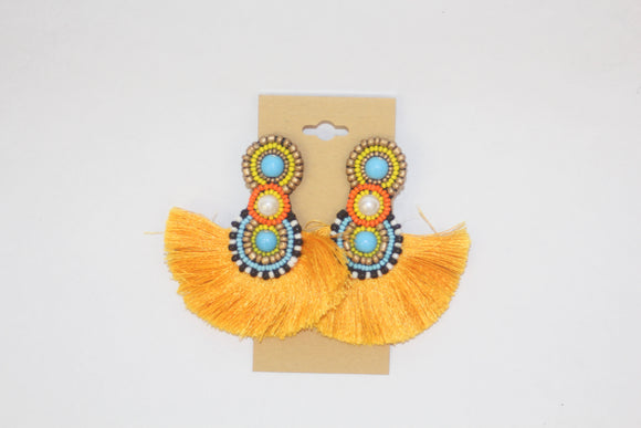 Bahama Mama Earrings - Magnolia Doll