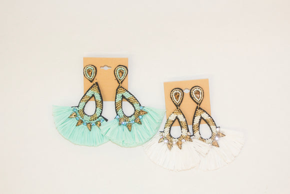Cabana Girl Earrings - Magnolia Doll