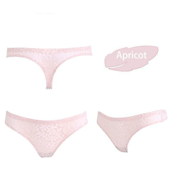 Ultra-thin Seamless Lace Panties-Cupids Fantasy World