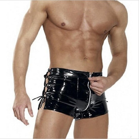 Mens Wetlook Shorts-Cupids Fantasy World