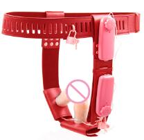 Chastity Belt with Vibrators