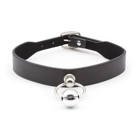Black Collar with Bell
