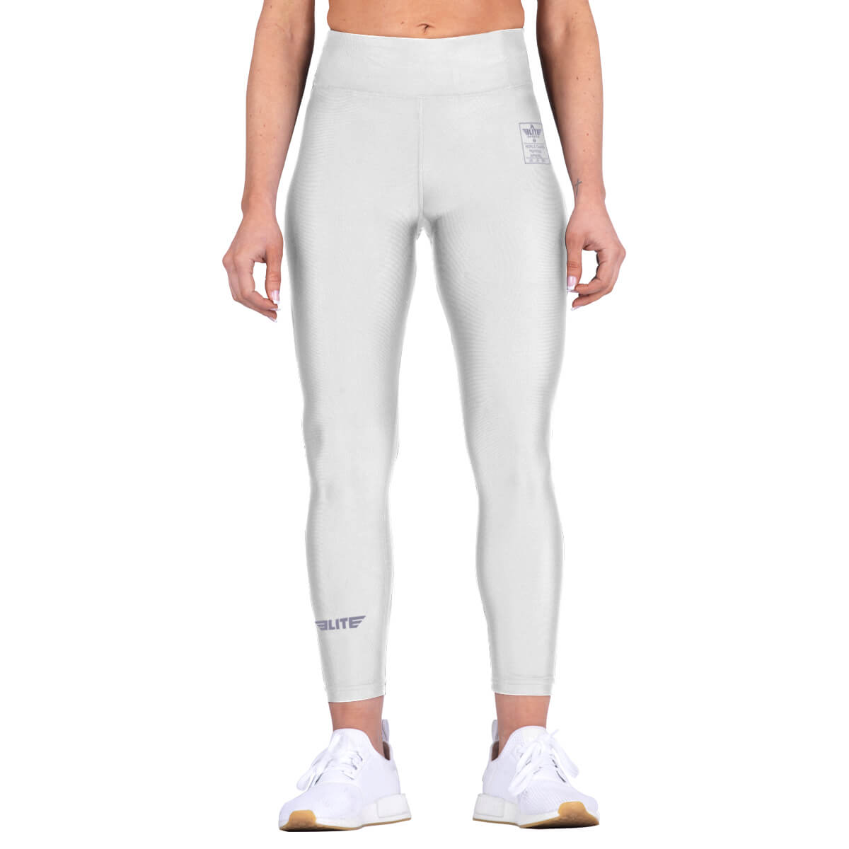 Elite Sports White Women Compression Judo Spat Pants