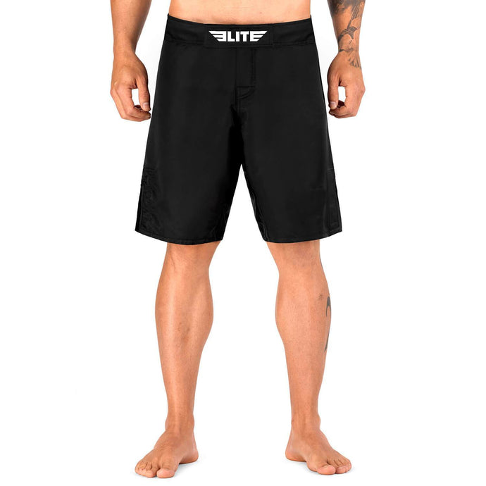 Elite Sports Black Jack Series Black Wrestling Shorts