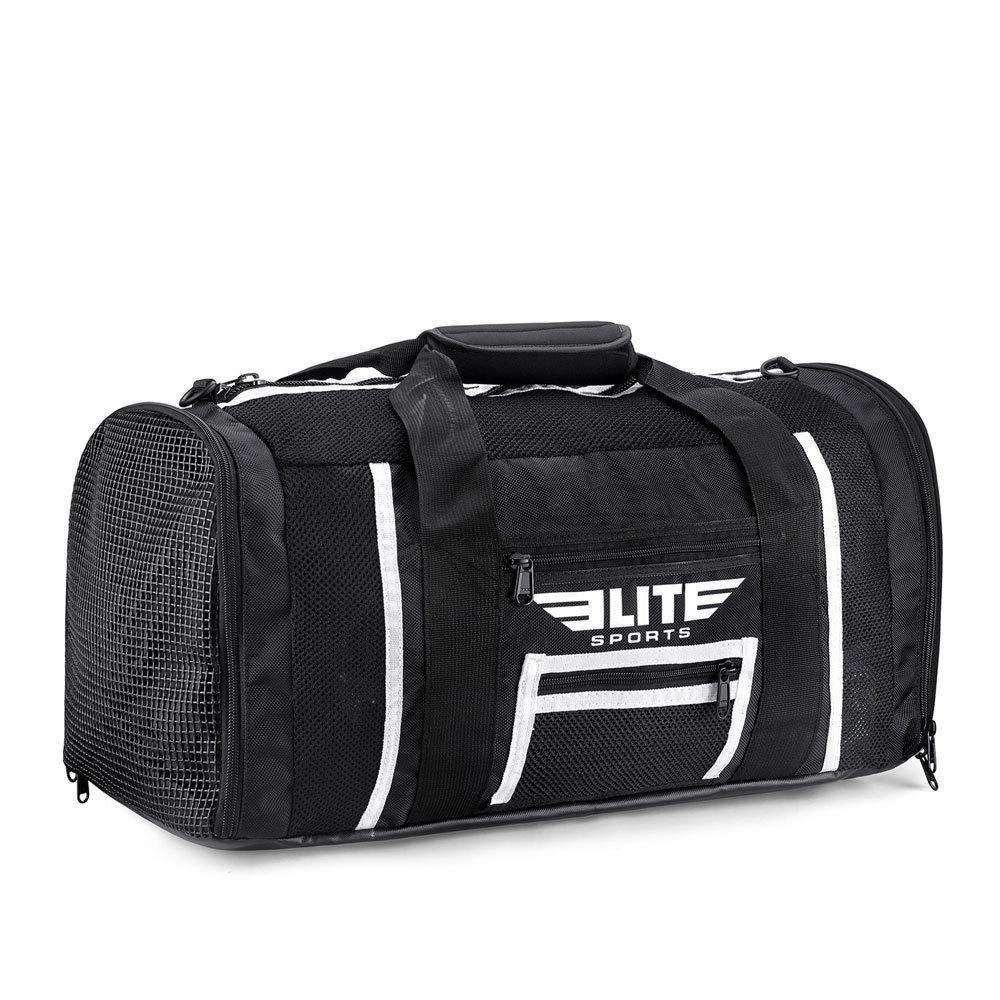 Load image into Gallery viewer, Elite Sports Mesh Black Medium Taekwondo Gear Gym Bag