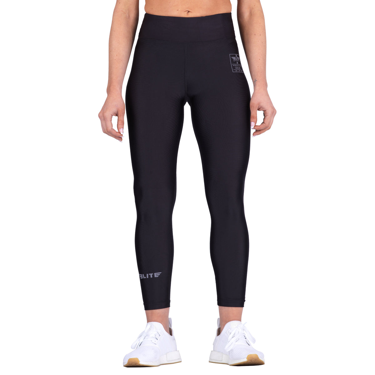 Elite Sports Black Women Compression Taekwondo Spat Pants