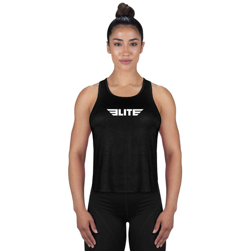 Elite Sports Black Muay Thai Women Tank Top