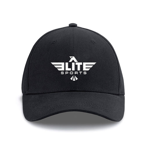 Elite Sports Black Cross Fit Cap