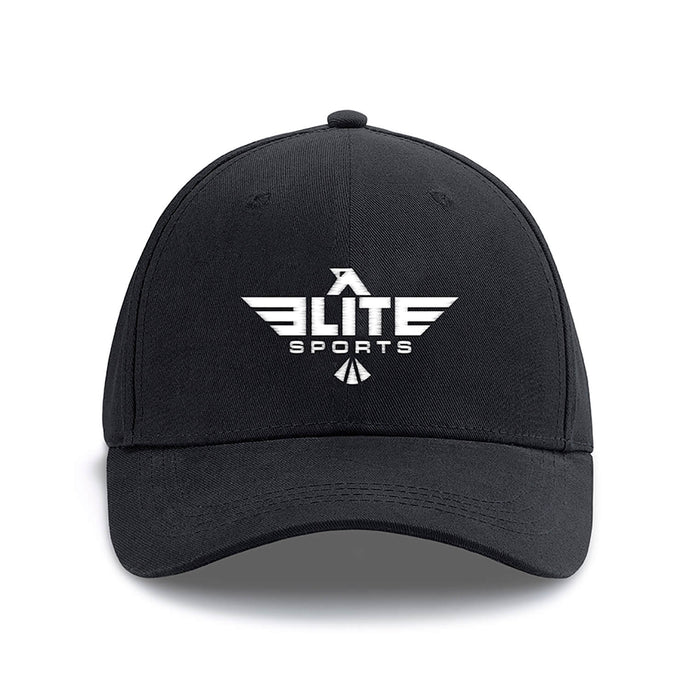 Elite Sports Black Karate Cap