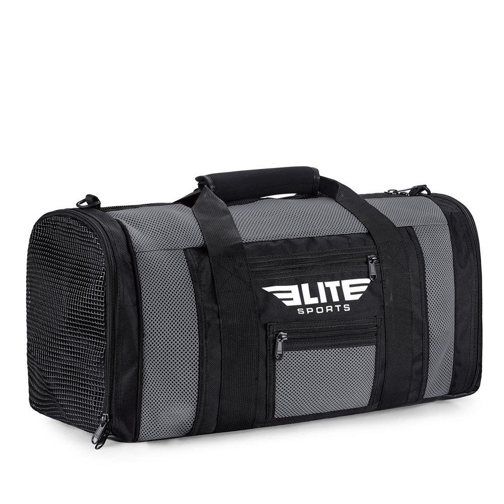 Load image into Gallery viewer, Elite Sports Mesh Gray Medium Taekwondo Gear Gym Bag