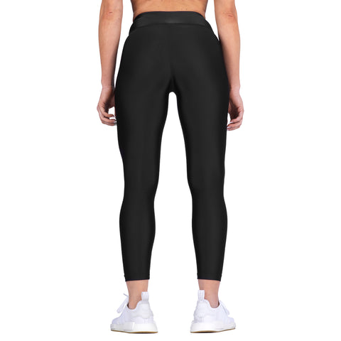Elite Sports Black Women Compression Muay Thai Spat Pants