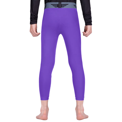 Elite Sports Purple Kids Compression Judo Spat Pants