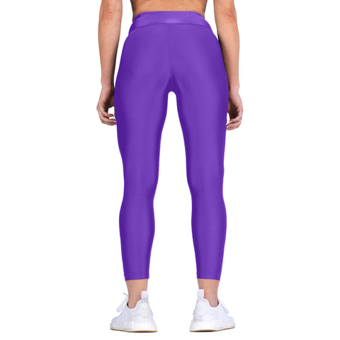 Elite Sports Purple Women Compression Wrestling Spat Pants