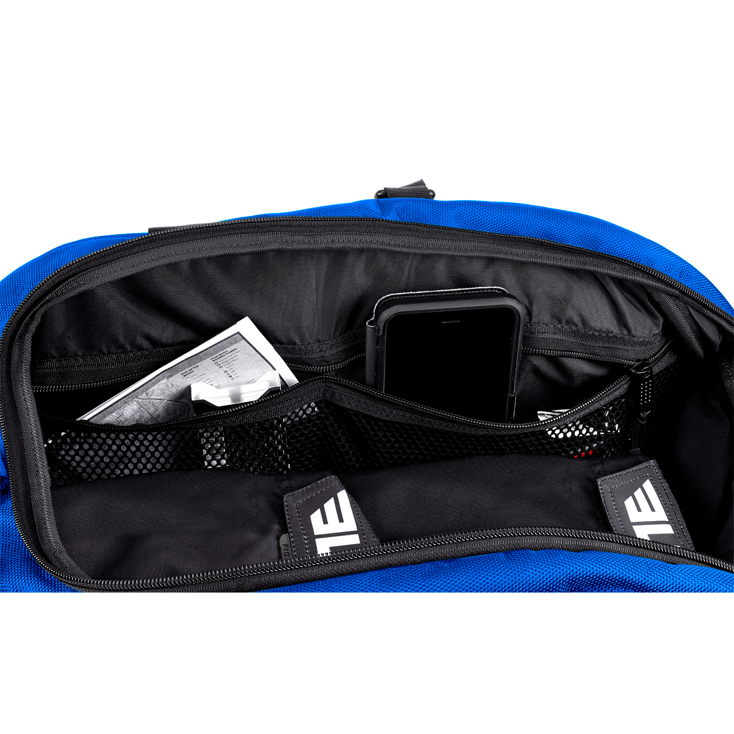 Load image into Gallery viewer, Elite Sports Warrior Series Blue Medium Duffel Karate Gear Gym Bag & Backpack