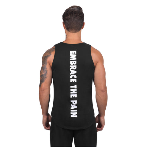 Elite Sports Black Men Training Tank Top