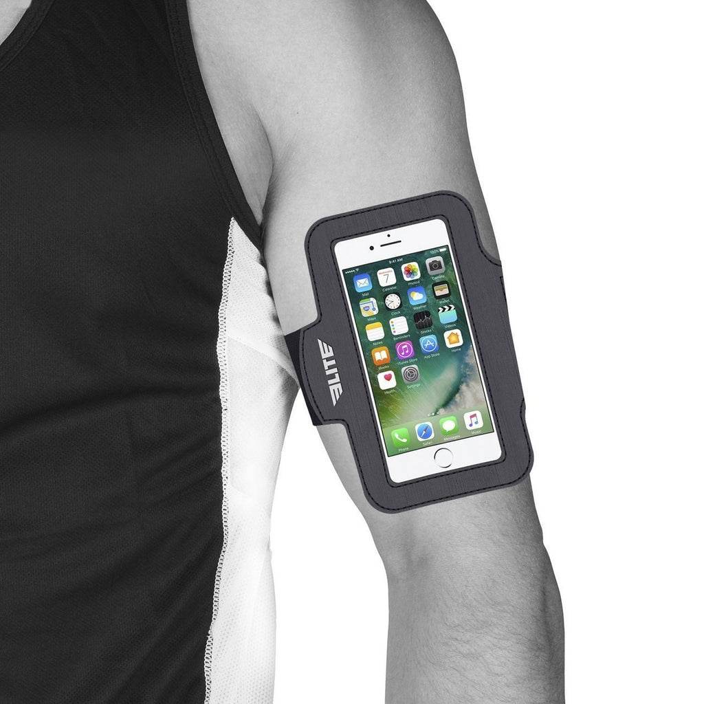Elite Sports Water Resistant Black Armband