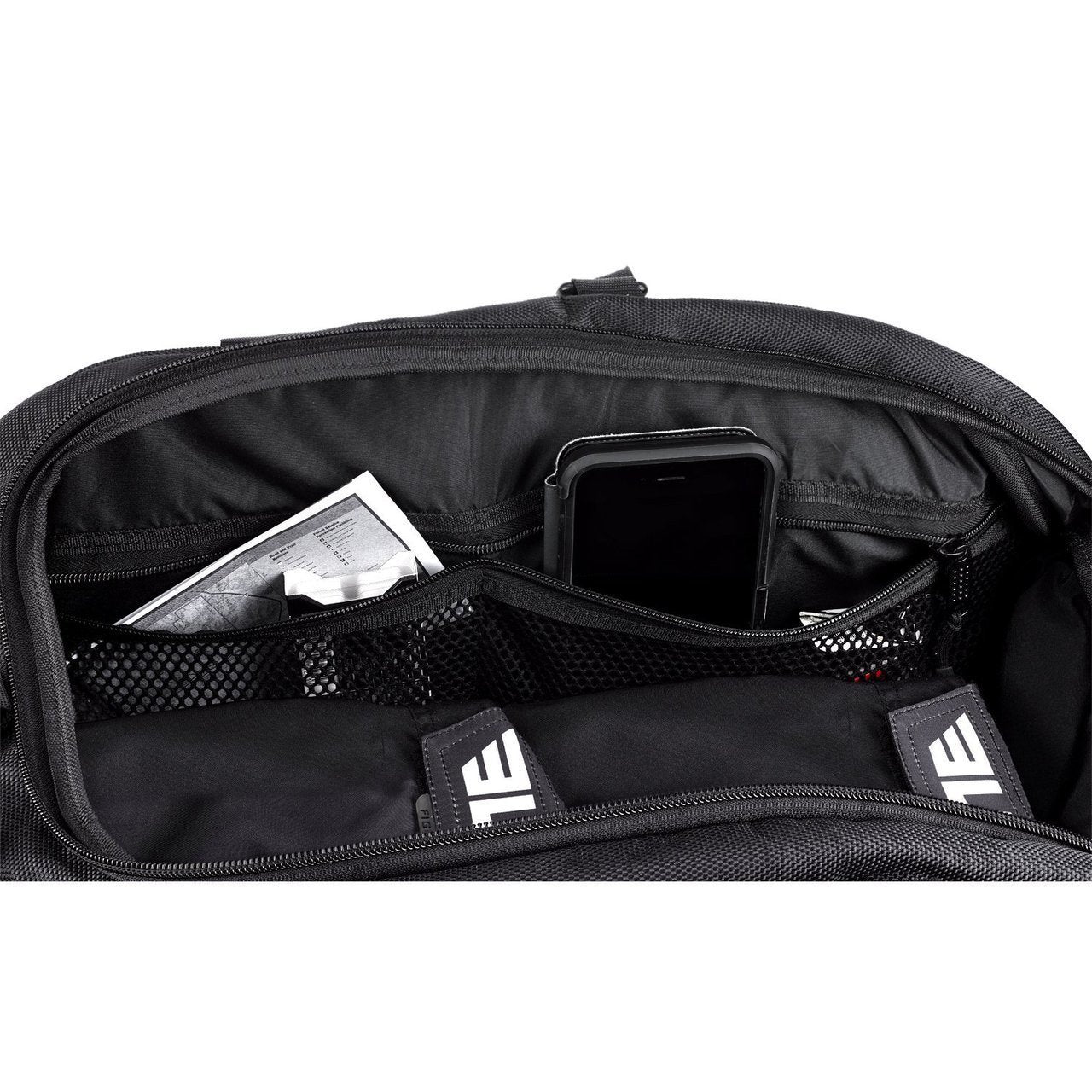 Load image into Gallery viewer, Elite Sports Warrior Series Black Medium Duffel Wrestling Gear Gym Bag & Backpack