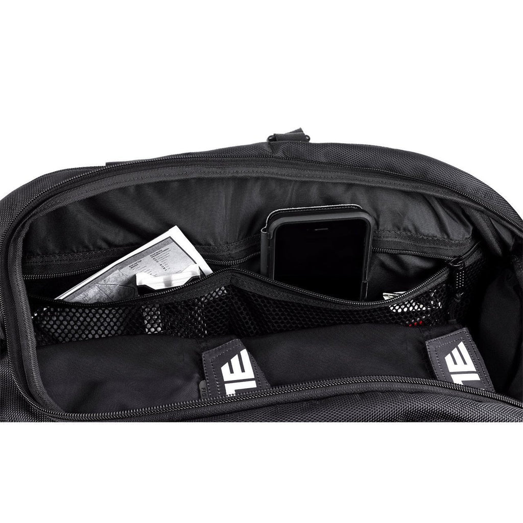 Elite Sports Warrior Series Black Medium Duffel Brazilian Jiu Jitsu BJJ Gear Gym Bag & Backpack