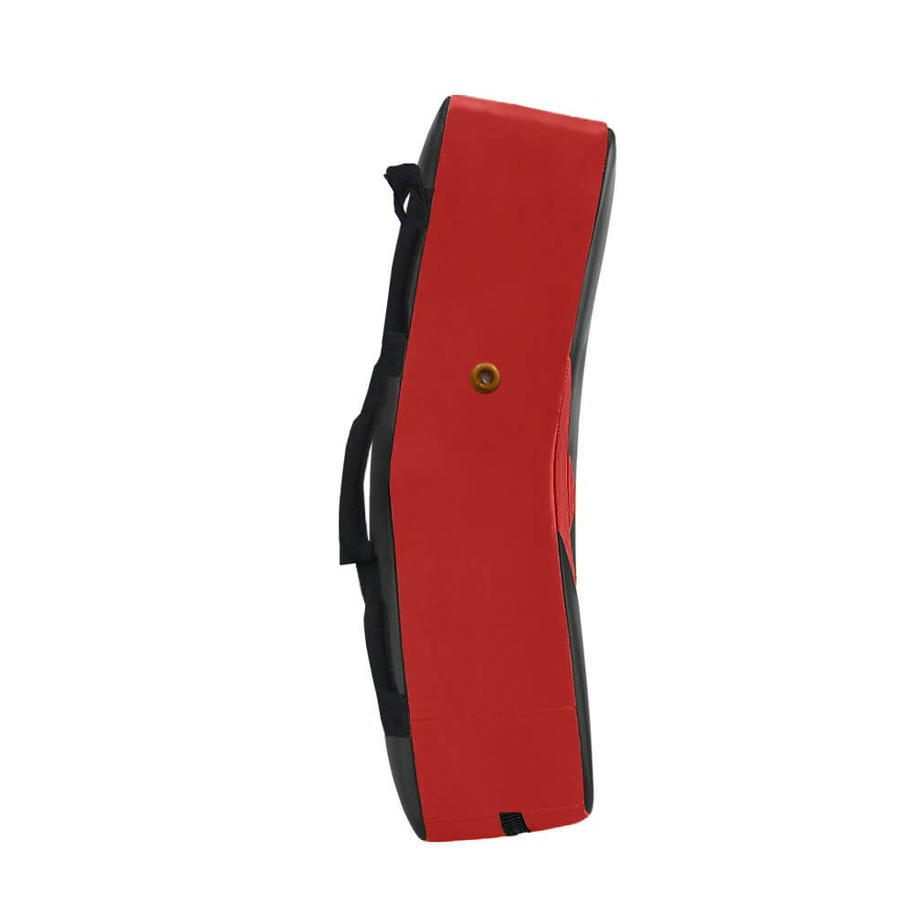 Load image into Gallery viewer, Elite Sports Black/Red MMA Strike Shield Kick Pad