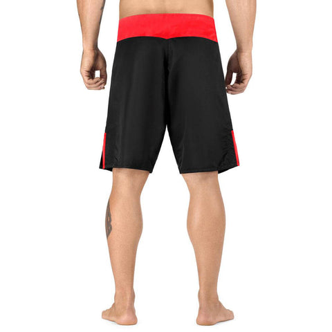 Elite Sports Black Jack Series Black/Red Training Shorts