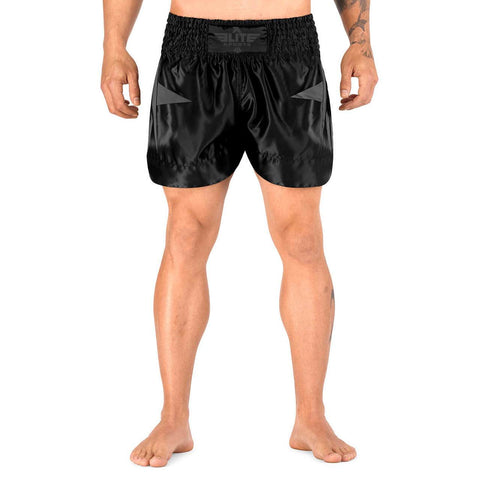 Elite Sports Star Series Sublimation Black/Gray Muay Thai Shorts