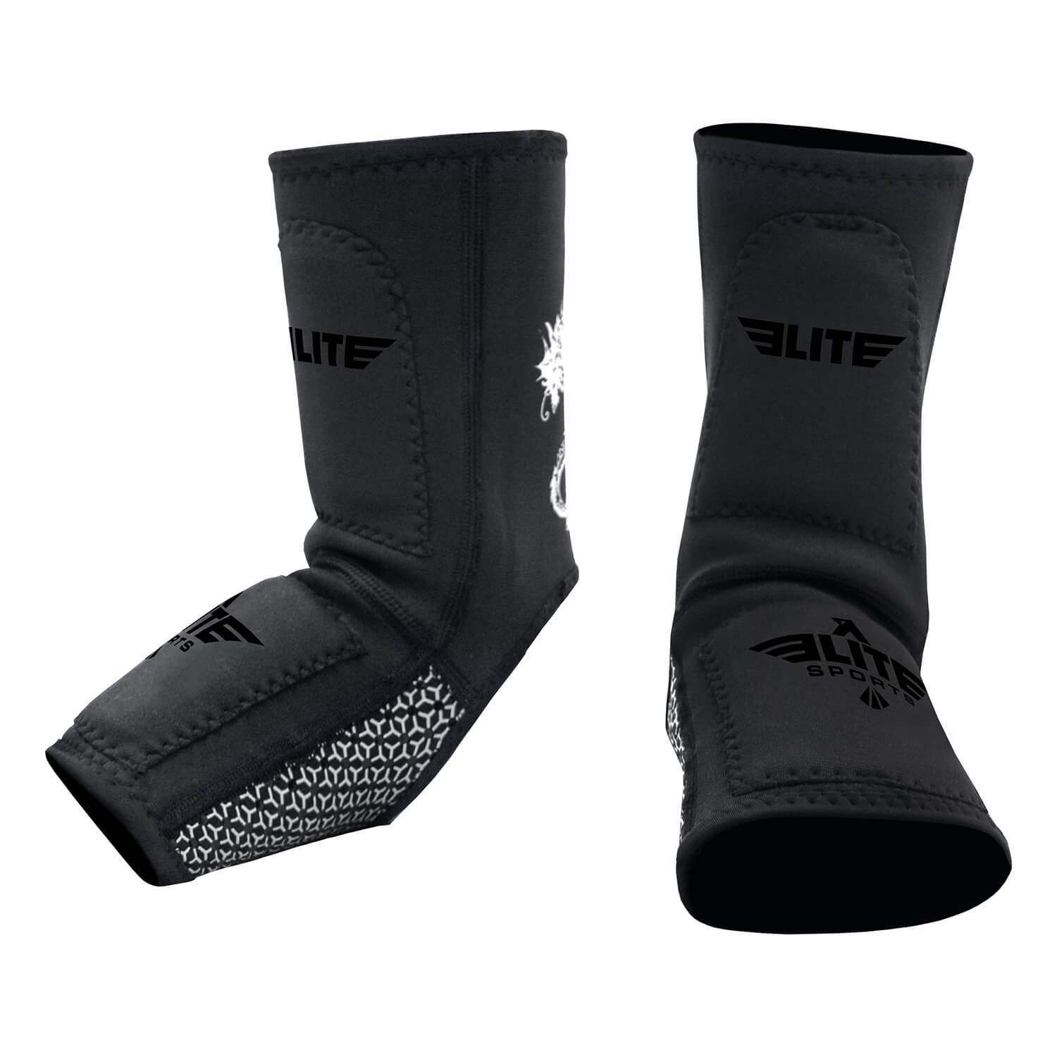 Load image into Gallery viewer, Elite Sports Black Training Ankle Guard