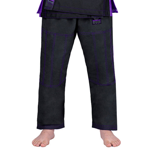 Elite Sports Black Kids Brazilian Jiu Jitsu BJJ Pant