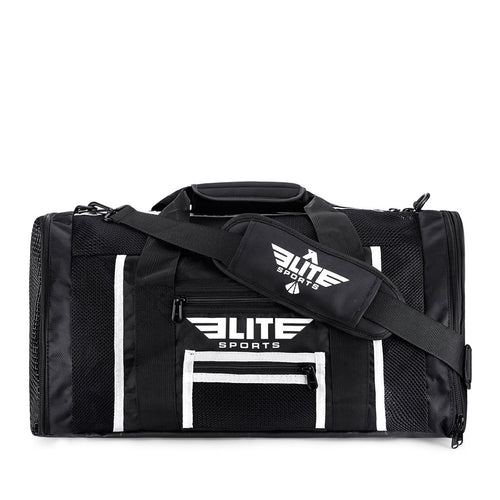 Elite Sports Mesh Black Medium Karate Gear Gym Bag