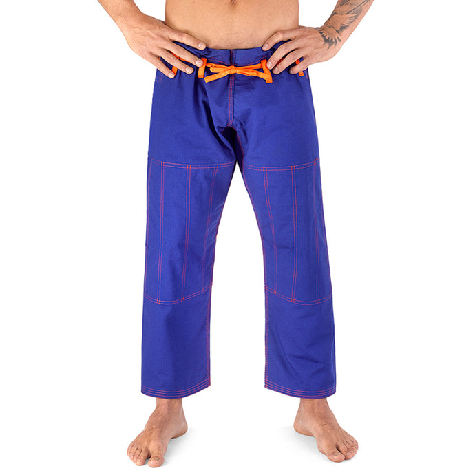 Elite Sports Blue Adult Brazilian Jiu Jitsu BJJ Pant