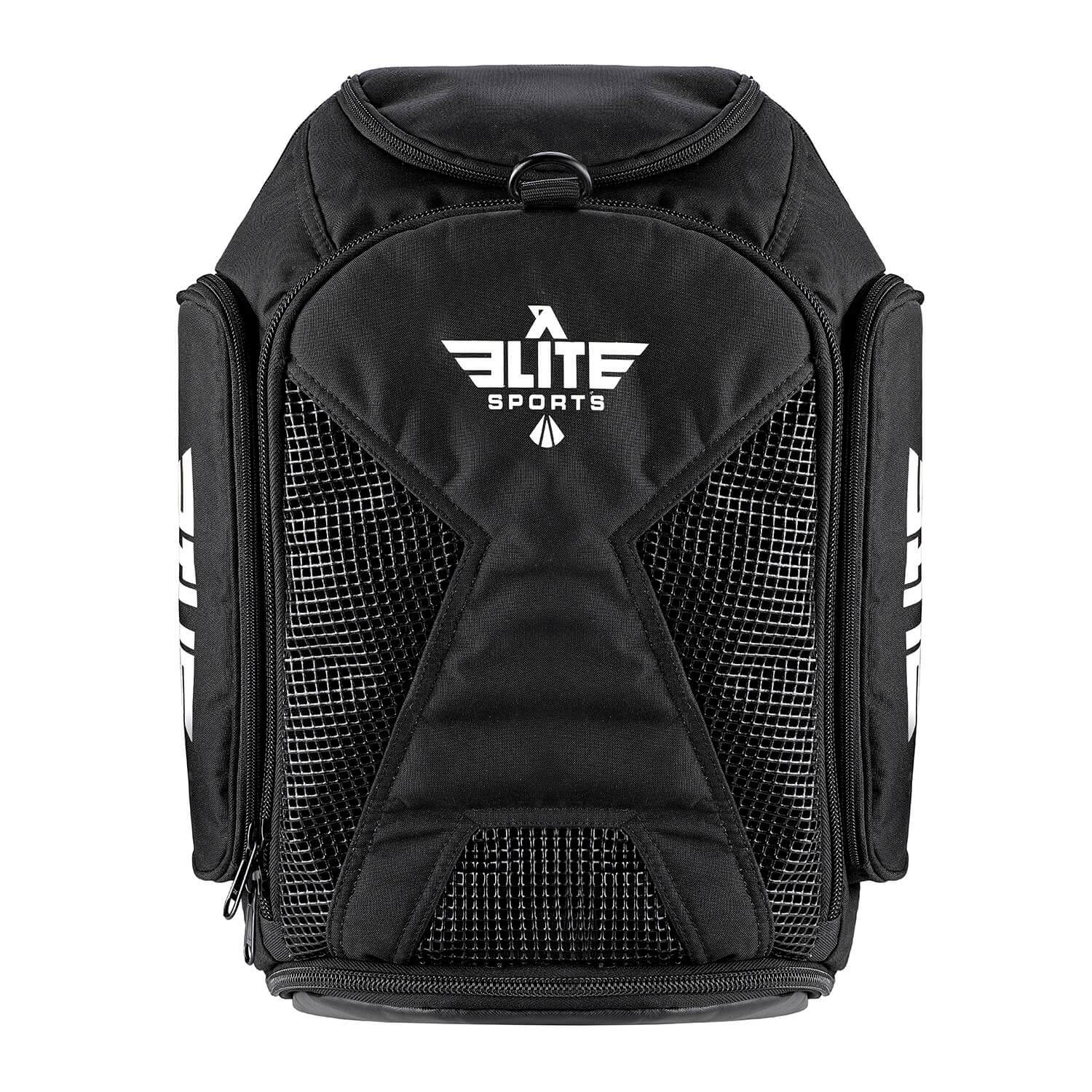 Load image into Gallery viewer, Elite Sports Athletic Convertible Black Training Gear Gym Bag & Backpack