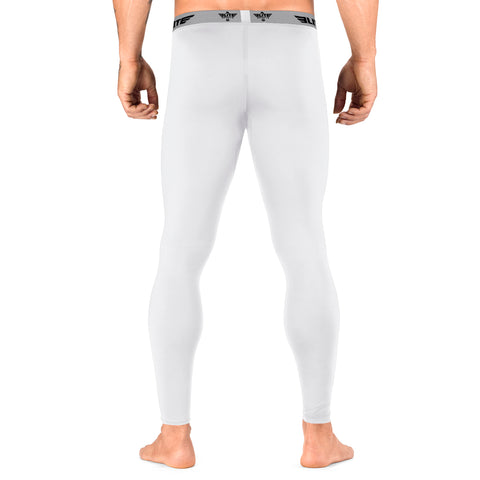 Elite Sports Plain White Compression Wrestling Spat Pants