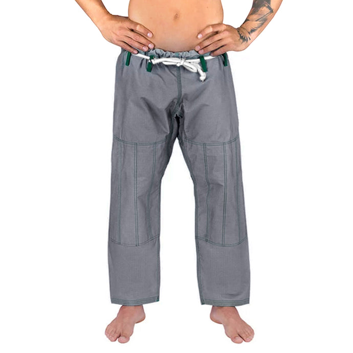 Elite Sports Gray Adult Brazilian Jiu Jitsu BJJ Pant