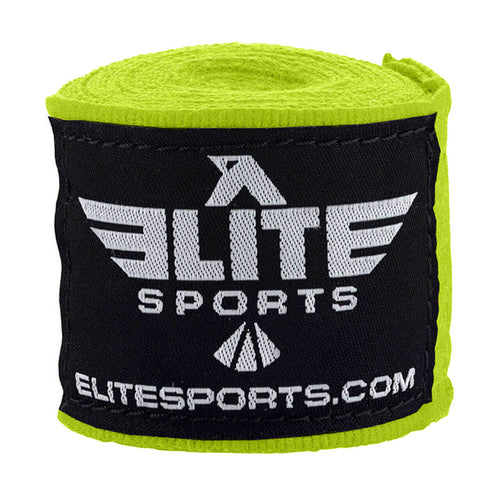 Elite Sports Green Muay Thai Hand Wraps