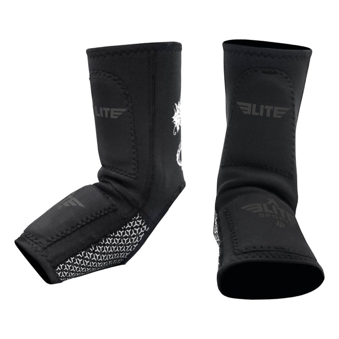 Elite Sports Gray MMA Ankle Guards