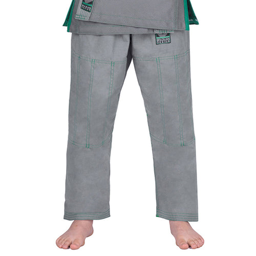 Elite Sports Gray Kids Brazilian Jiu Jitsu BJJ Pant