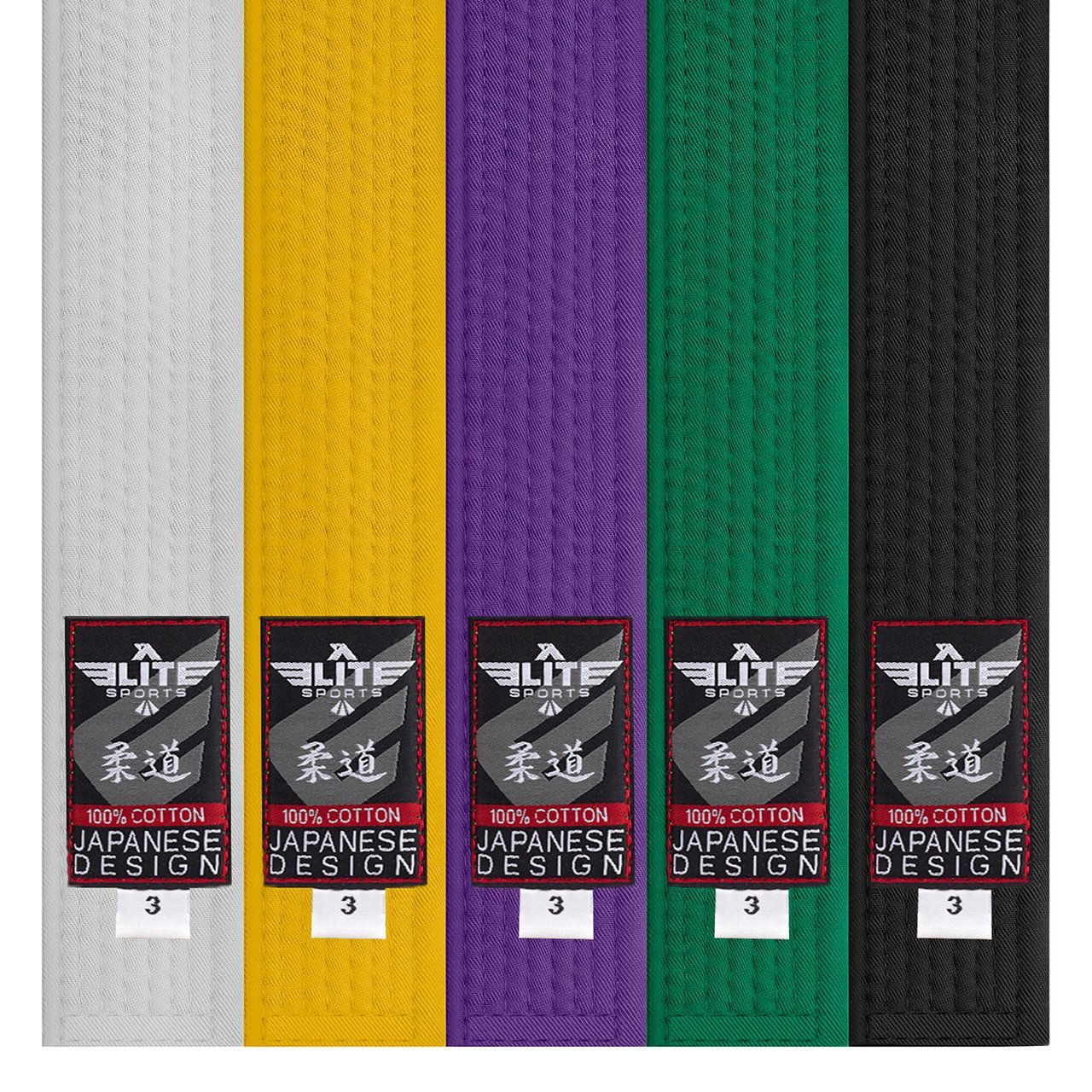 Load image into Gallery viewer, Elite Sports Adult Judo Black Belt