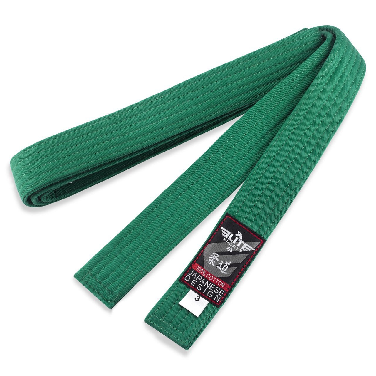 Load image into Gallery viewer, Elite Sports Adult Judo Green Belt