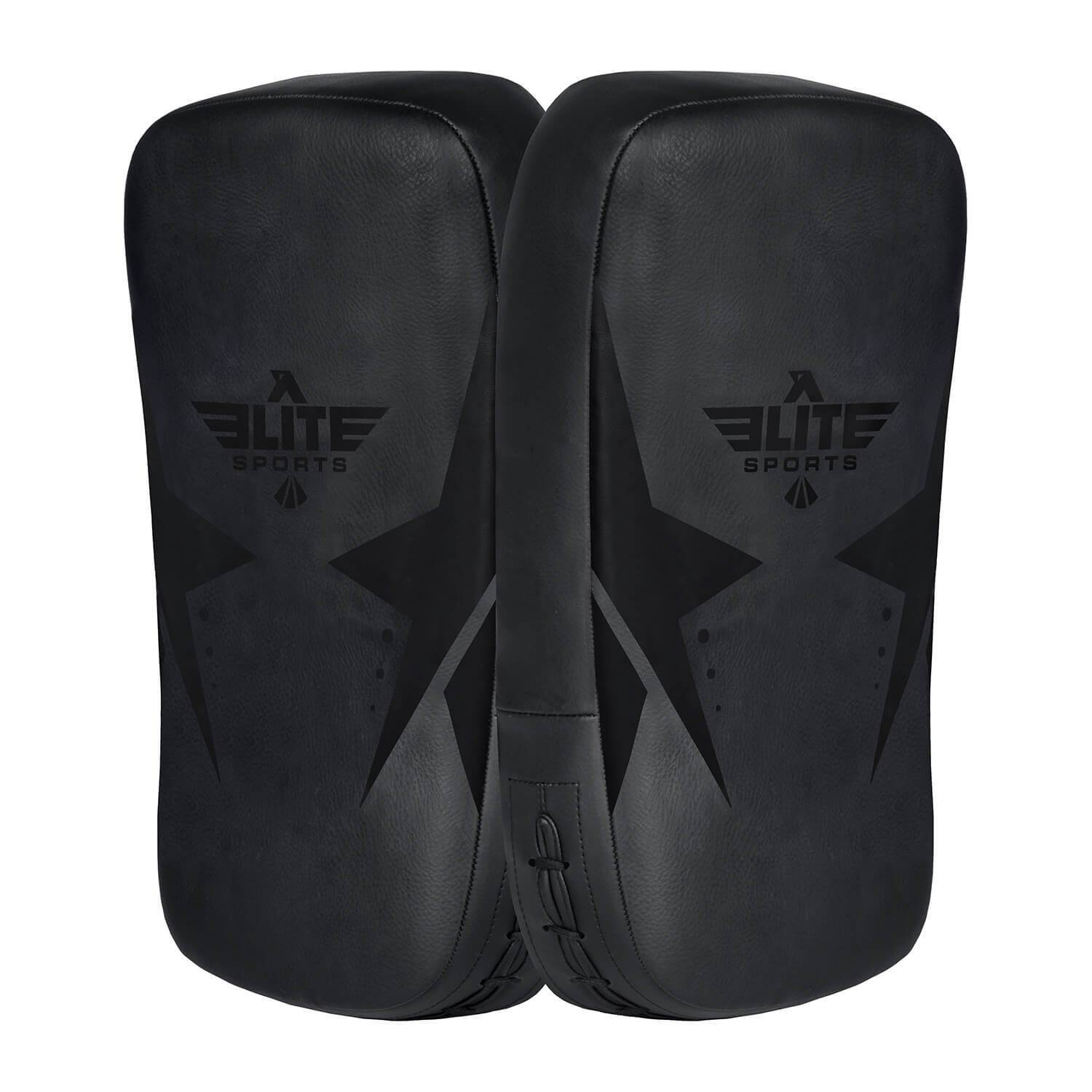 Load image into Gallery viewer, Elite Sports Black Muay thai Kick Pad