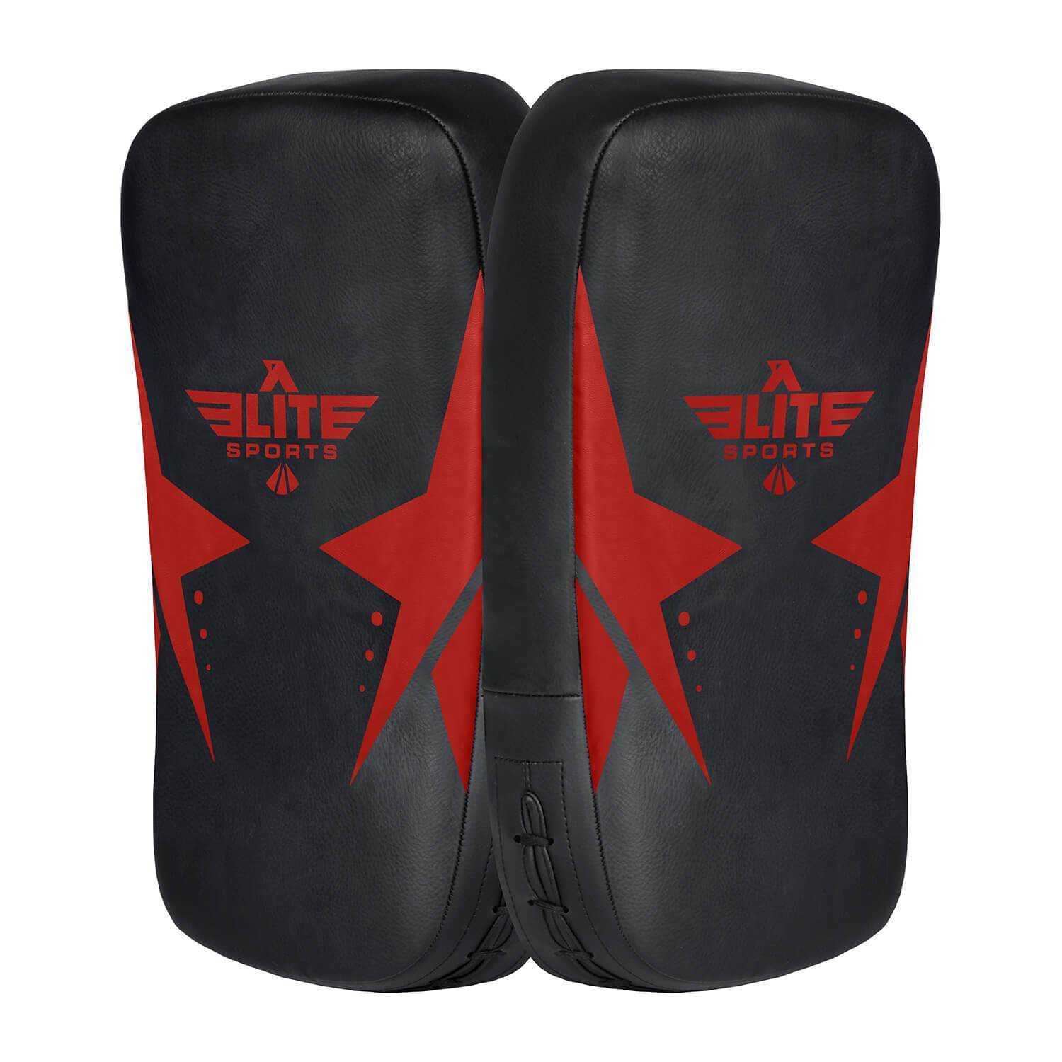 Elite Sports Black/Red Muay thai Kick Pad