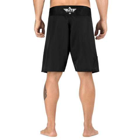 Elite Sports Black Jack Series Black Brazilian Jiu Jitsu BJJ No Gi Shorts