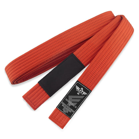 Elite Sports Kids Brazilian Jiu Jitsu BJJ Orange Belt