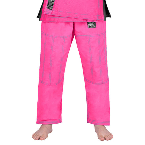 Elite Sports Pink Kids Brazilian Jiu Jitsu BJJ Pant