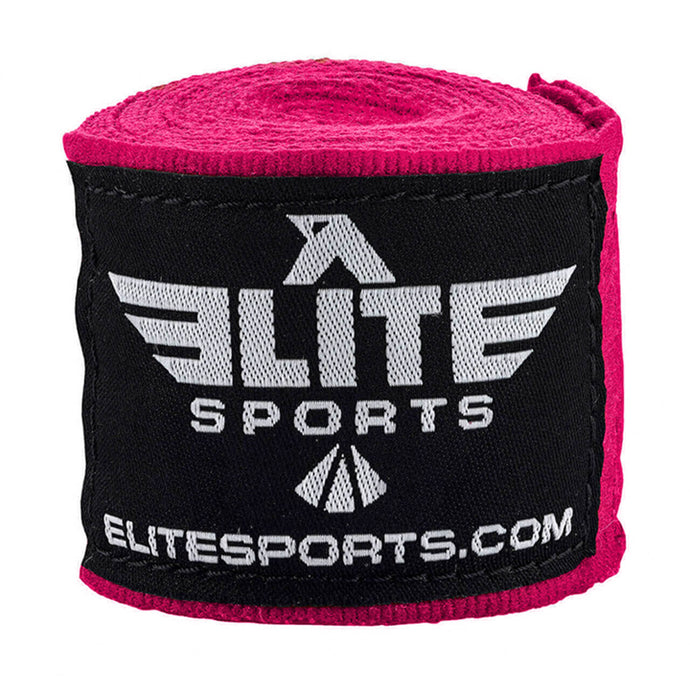 Elite Sports Pink Boxing Hand Wraps